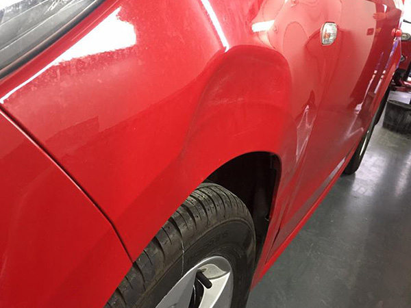Dent Removal front arch
